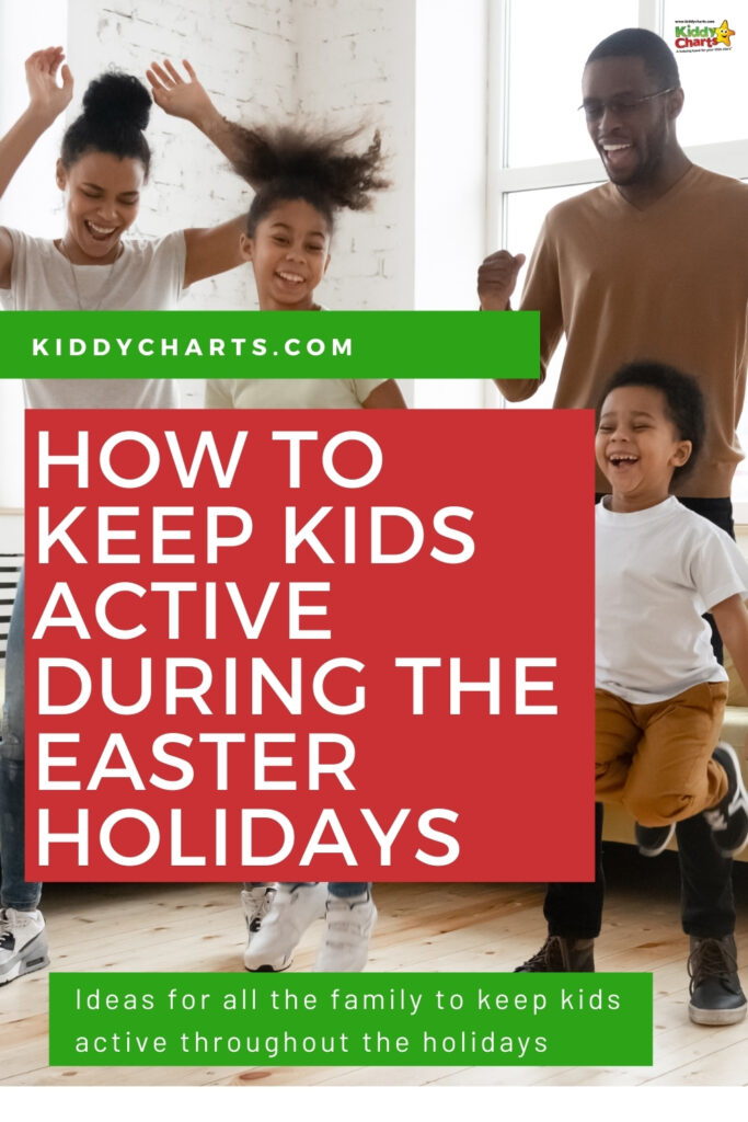 How to keep kids active during the Easter holidays