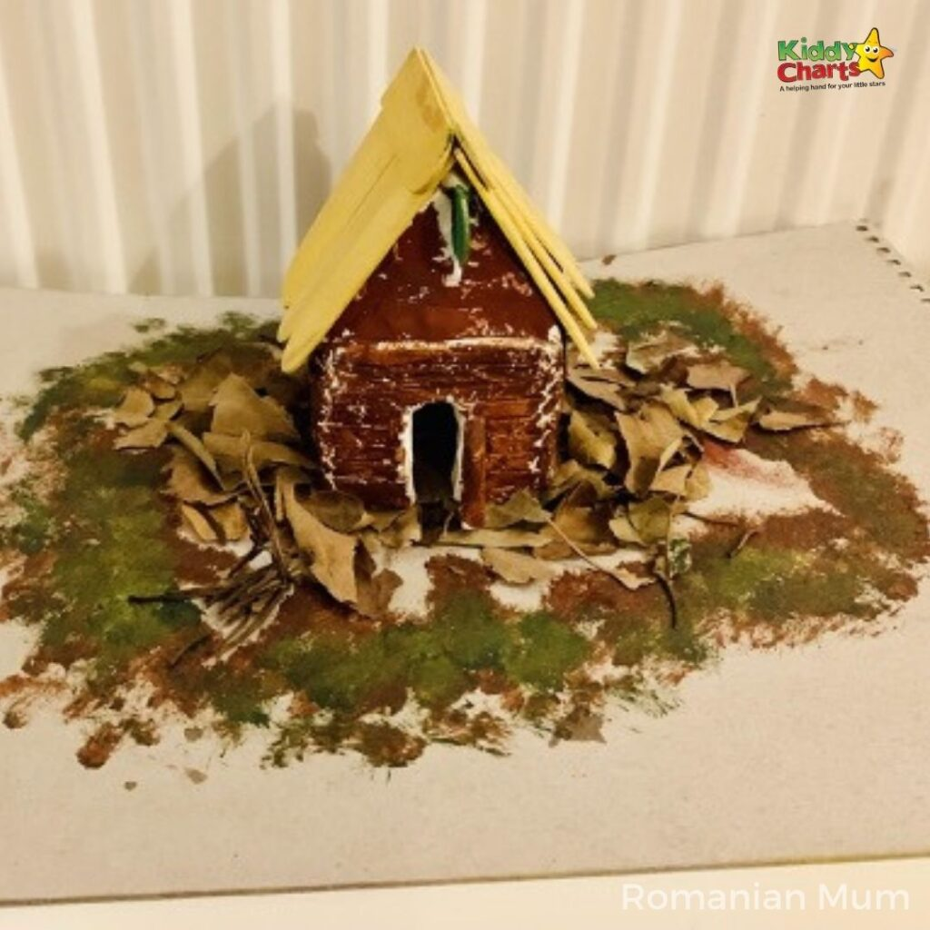 DIY clay house