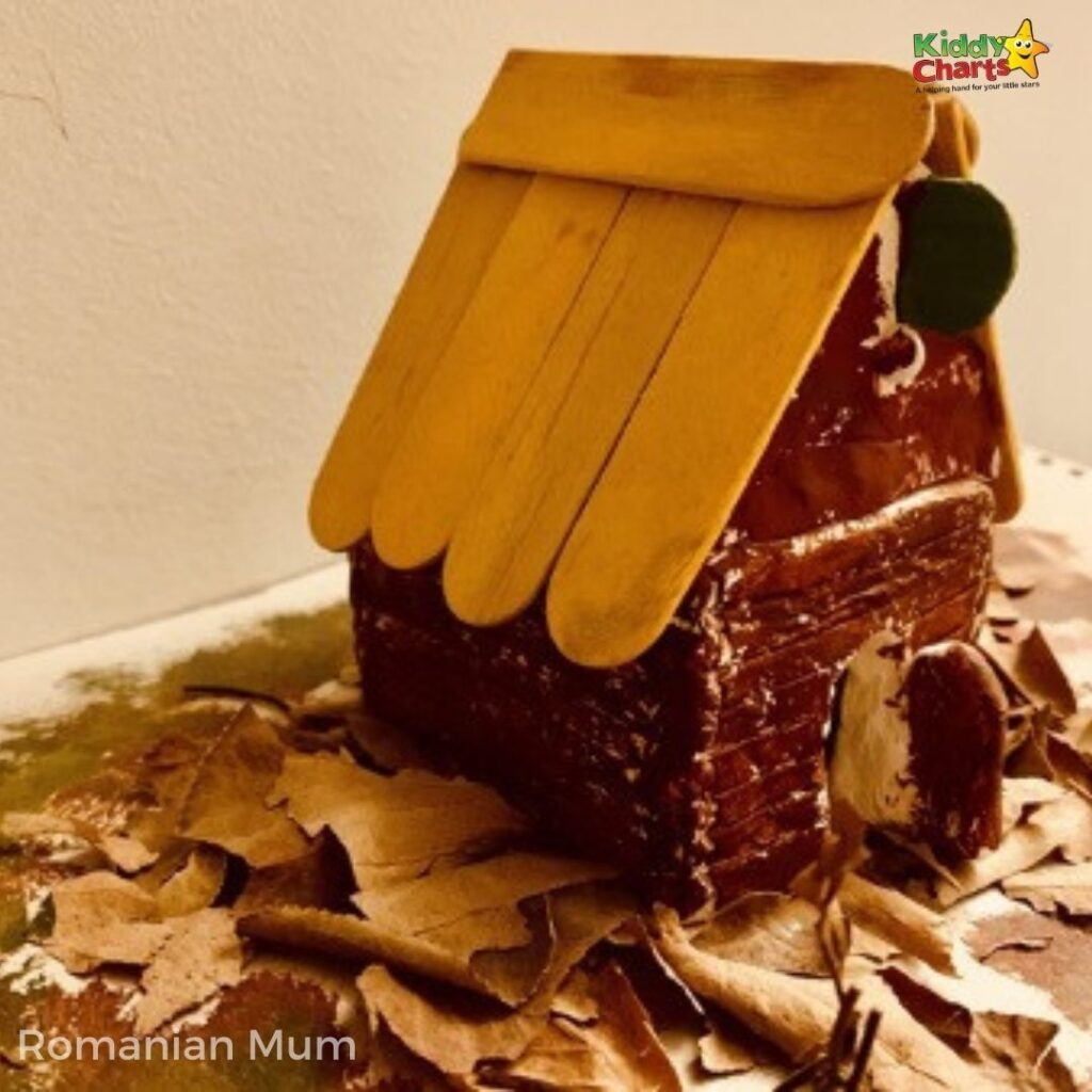 How to make a clay house and with what materials