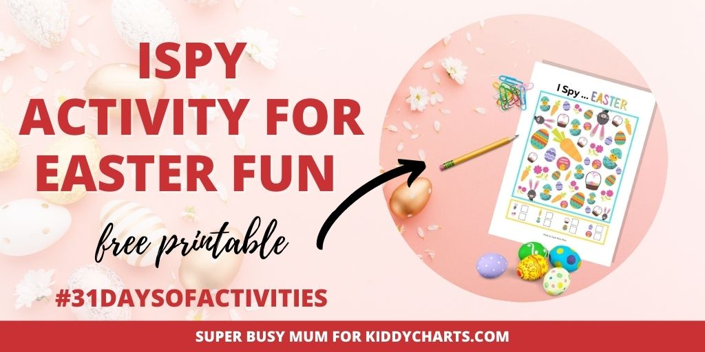 iSpy activity for Easter fun