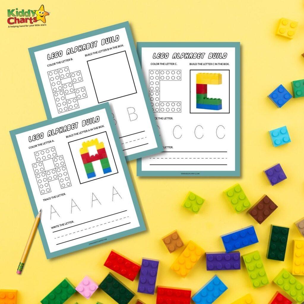 Lego building challenge ideas