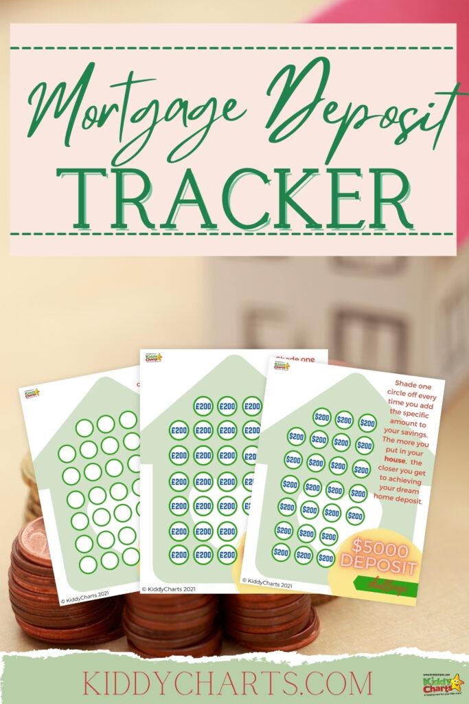 Mortgage deposit tracker