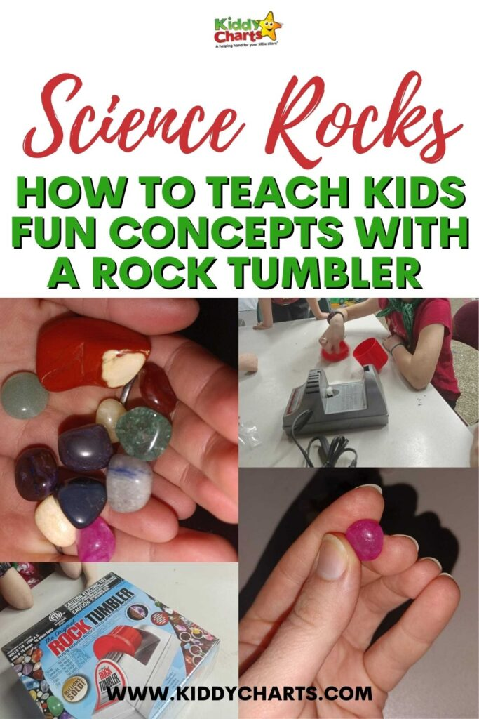 How to teach kids fun concepts with a Rock Tumbler