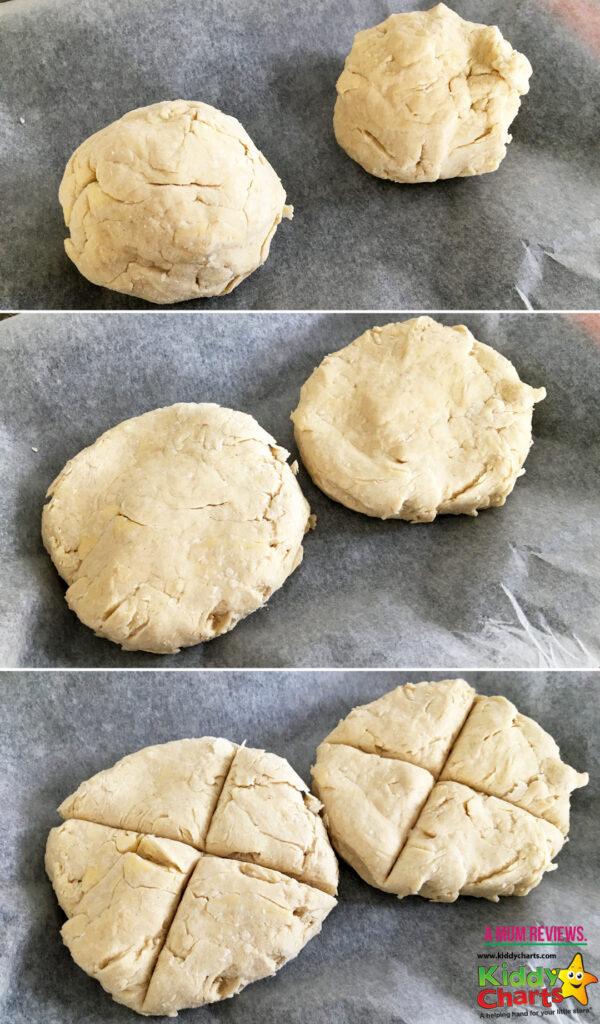 Scones baking recipe