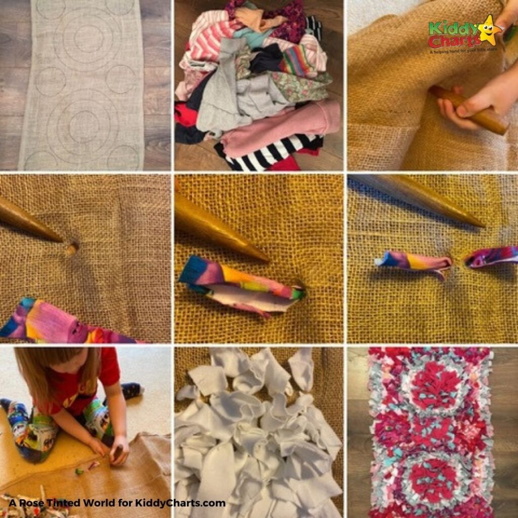 Childrens clothes upcycling