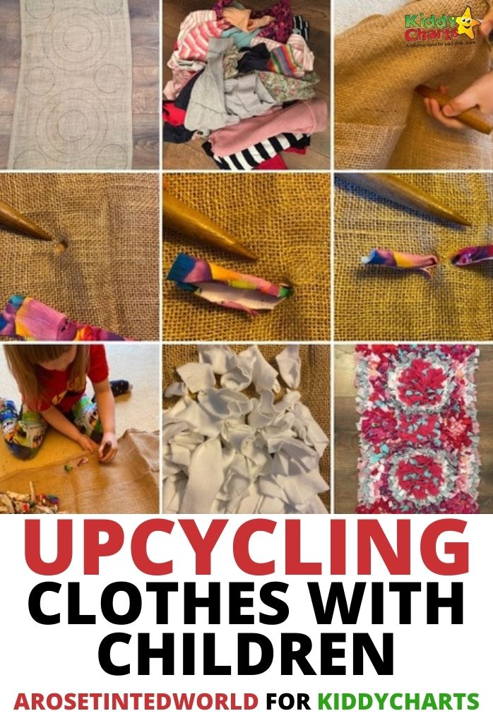 Upcycling clothes with children