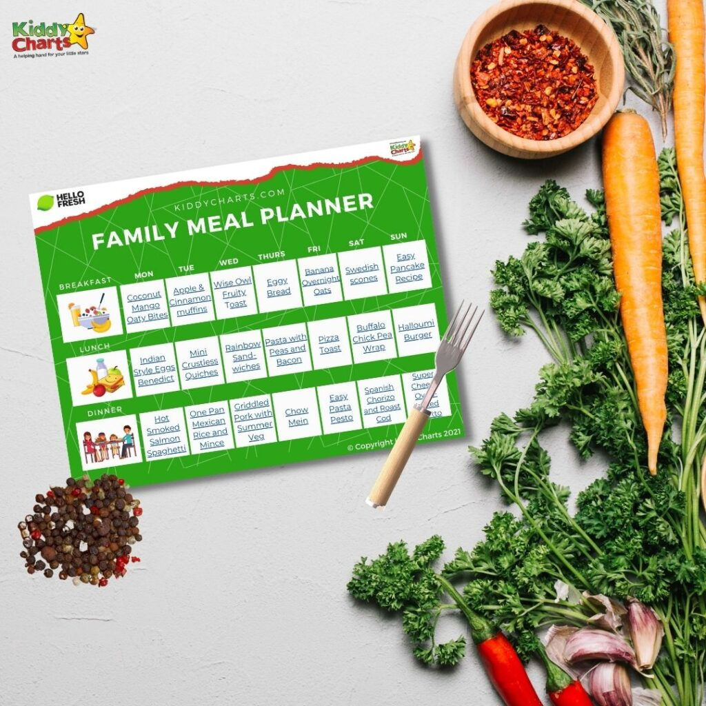 Meal planner for the family