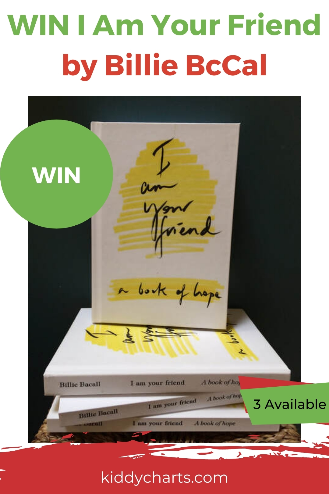 Win I am your Friend pocket books