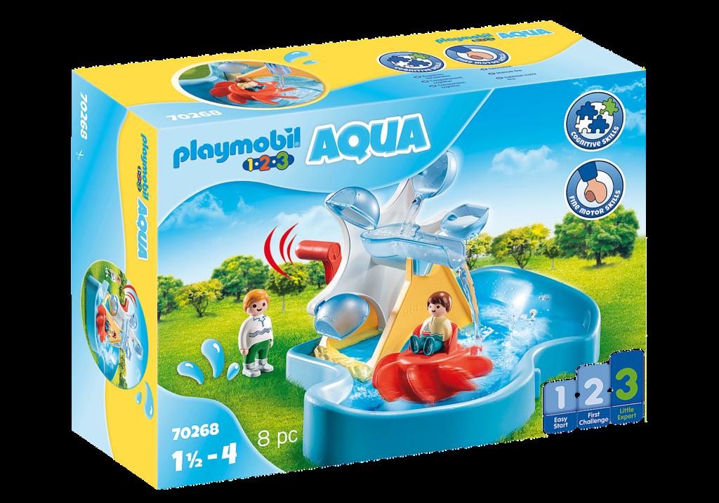 Win Aqua Playmobil 1.2.3 Bundle worth c. £120