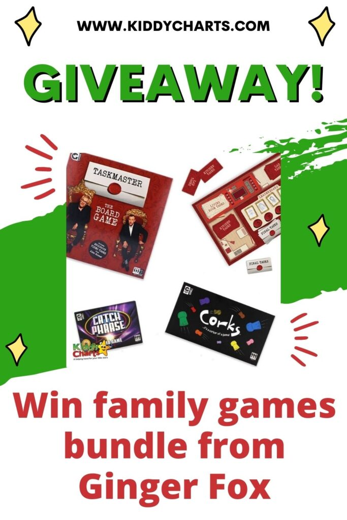 Win family games bundle from Ginger Fox
