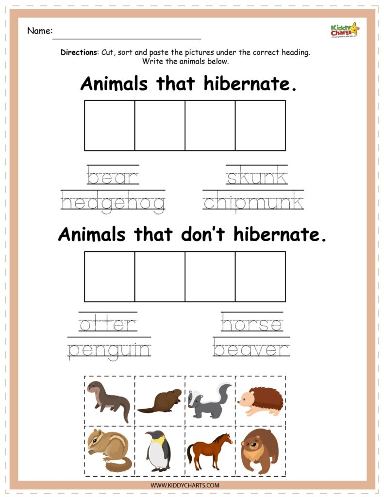 Learn about hibernating animals