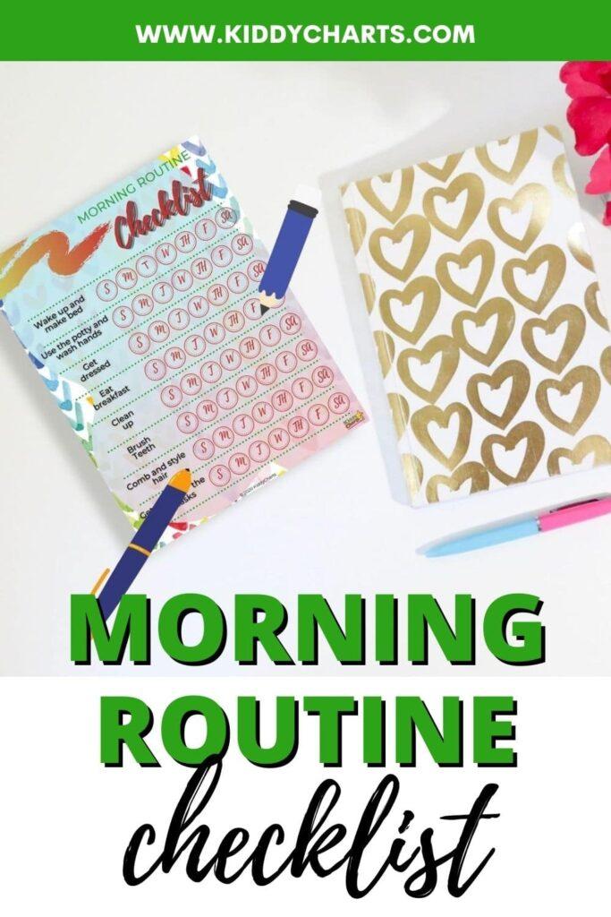 Morning checklist for kids