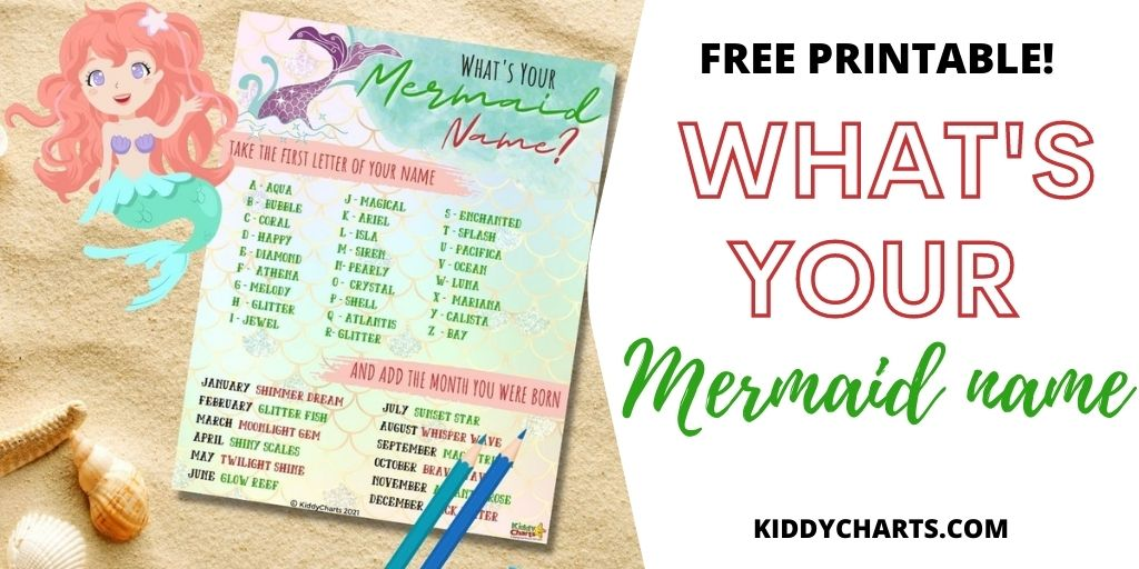 What's your mermaid name