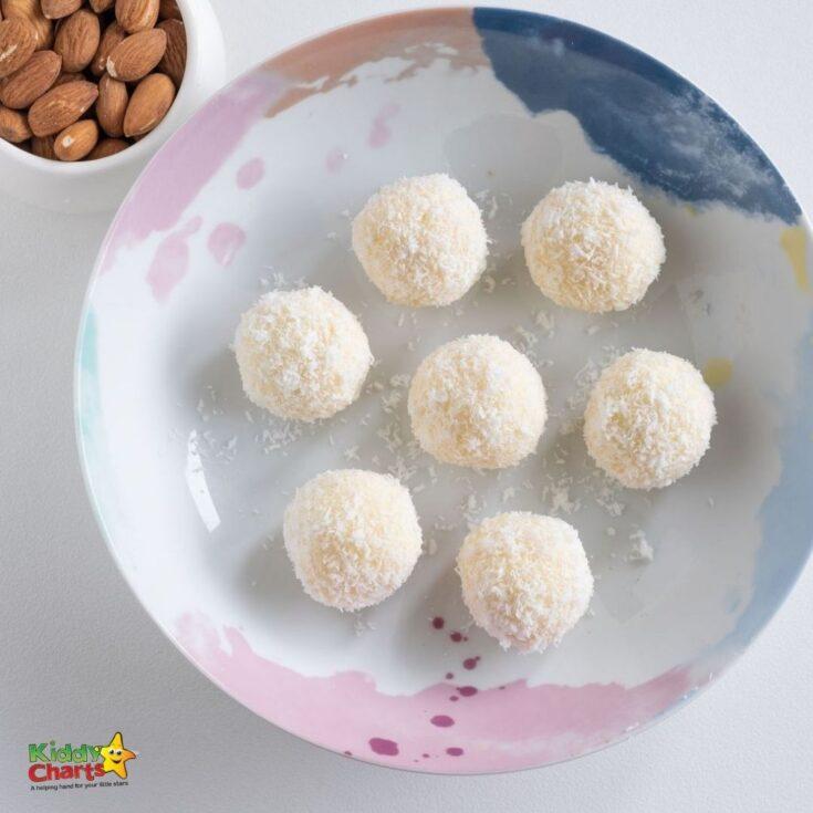 Chocolate truffles: How to make white chocolate coconut truffles