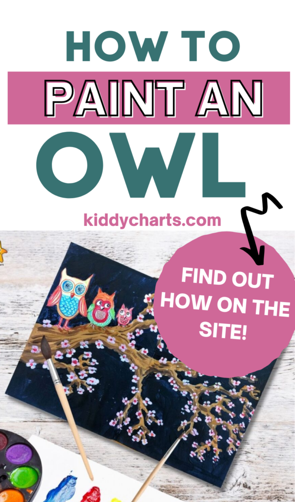 How to paint an owl fun project