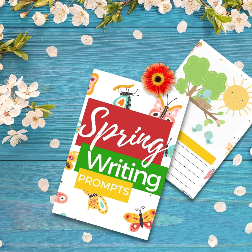Spring worksheets for kids: Writing Prompts