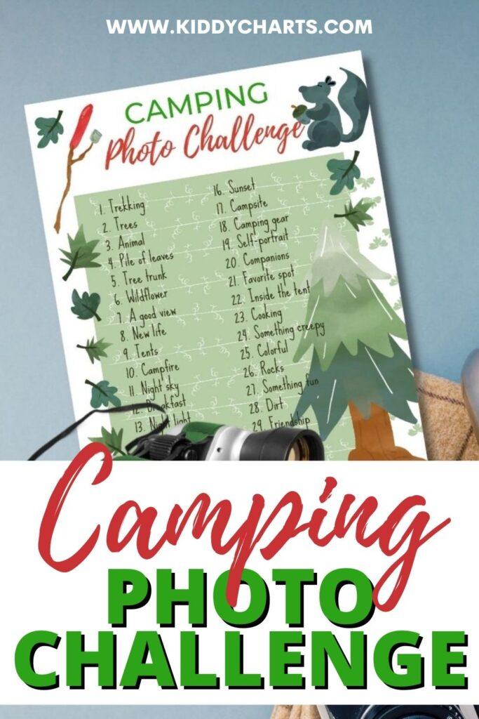 Camping photo challenge