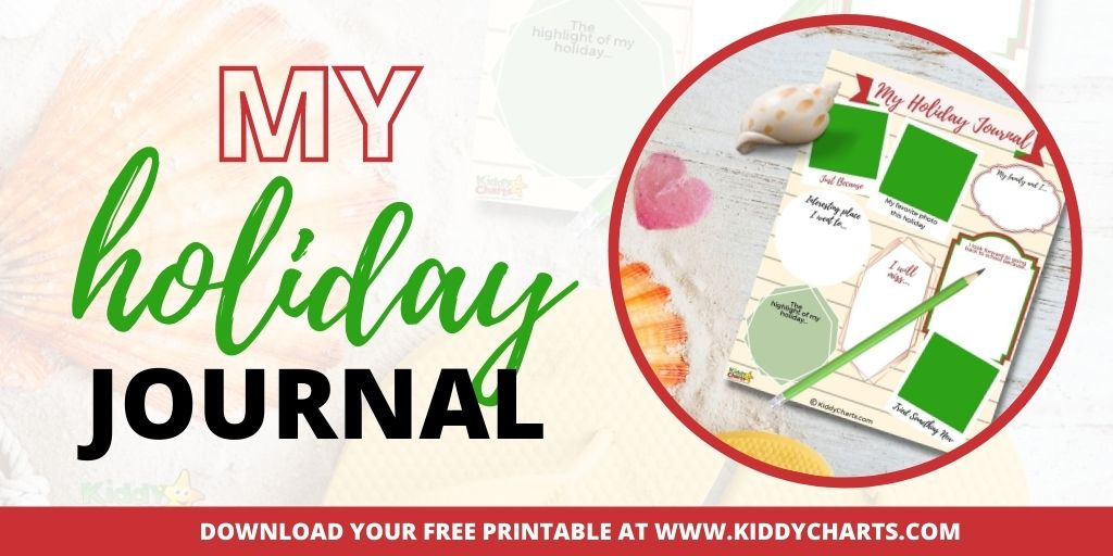 Holiday journal for children