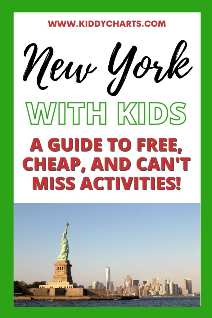 Things to do with kids in New York: Free, cheap and can't miss lists!