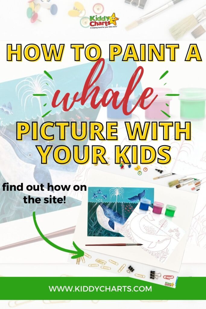 Whale picture with your kids