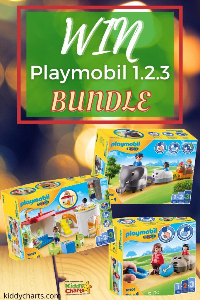 Win £70 Playmobil 1.2.3. bundle