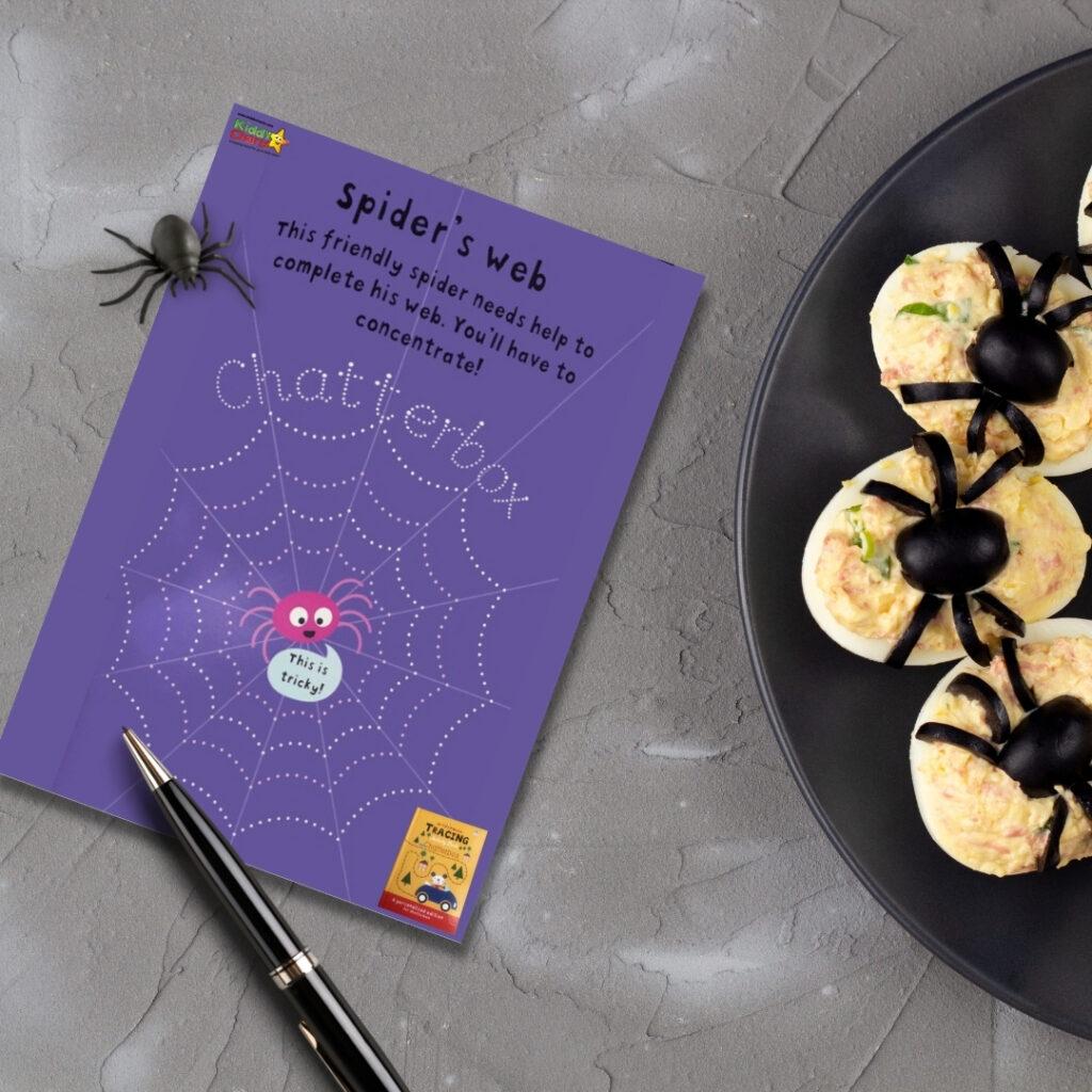 Personalised books spiders webs