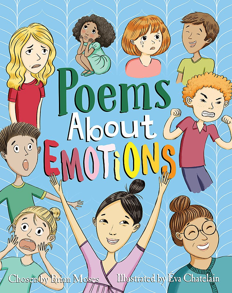 Wellbeing books Poems about emotions