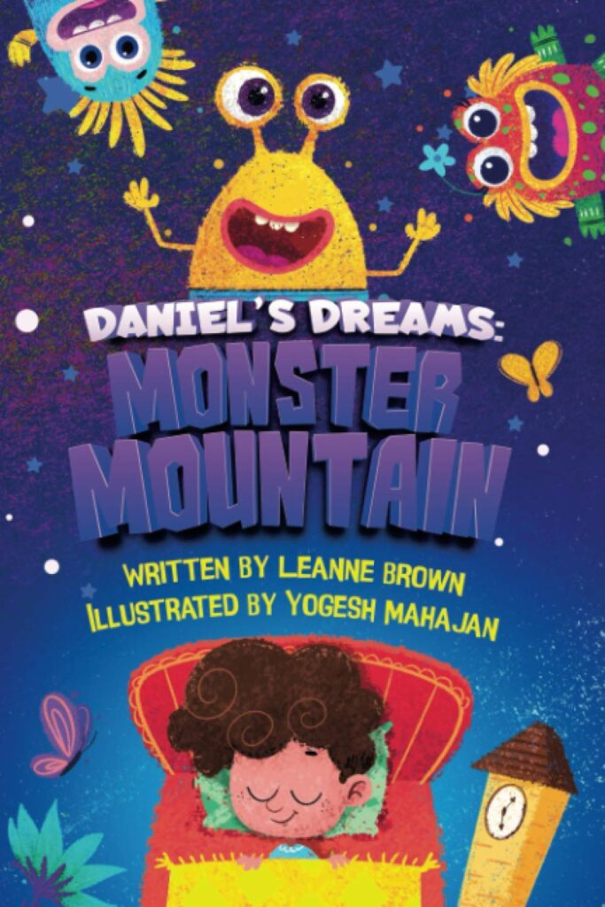 Wellbeing books Monster Mountain