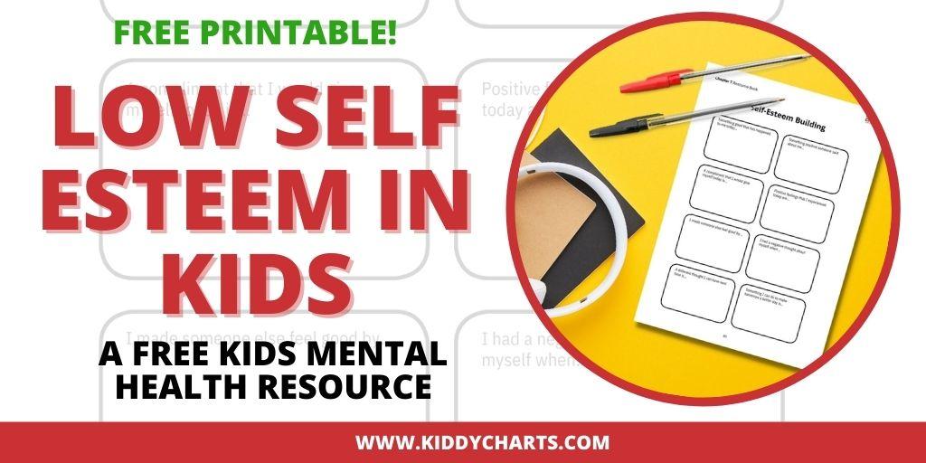 Low self esteem in kids Activity