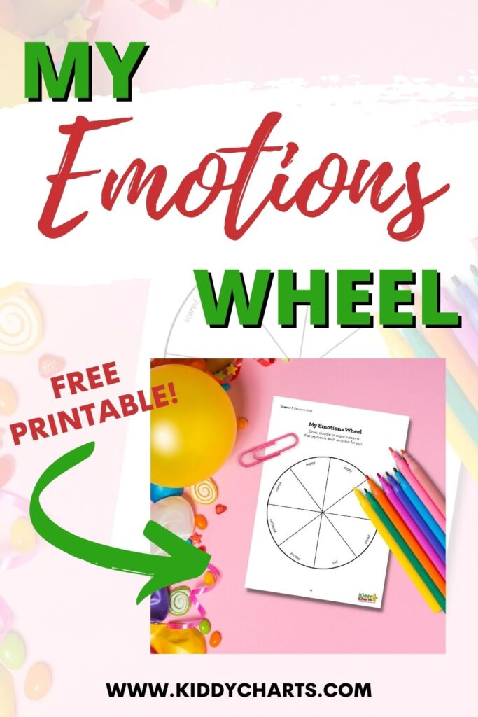My emotions wheel