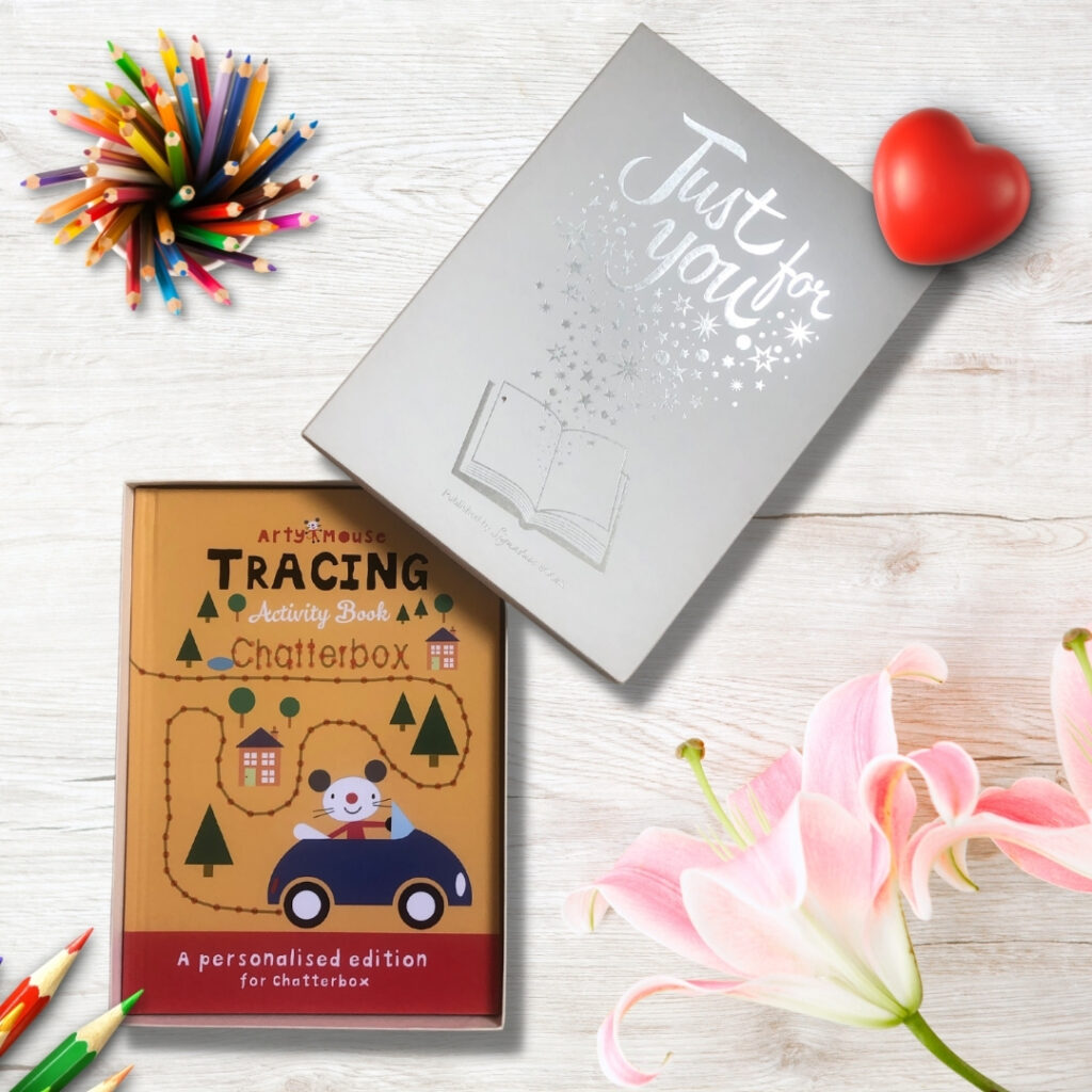 Personalised books like chatter box