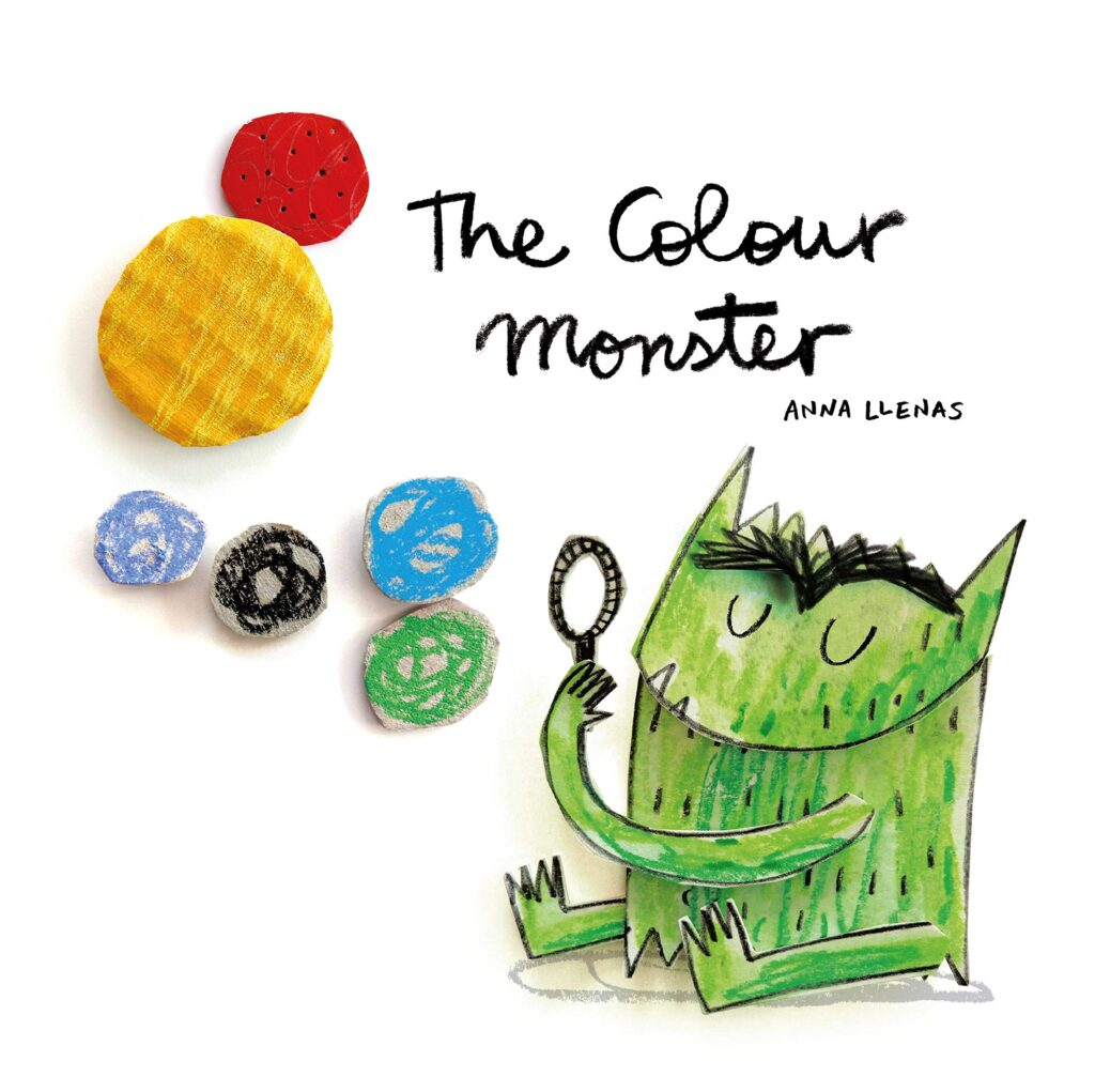 Wellbeing colour monster