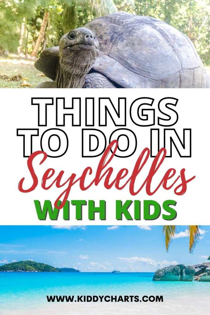 Things to do in the Seychelles with kids