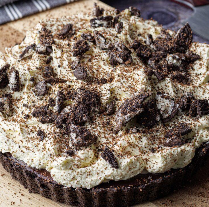 Chocolate Pie: Oh Rio style