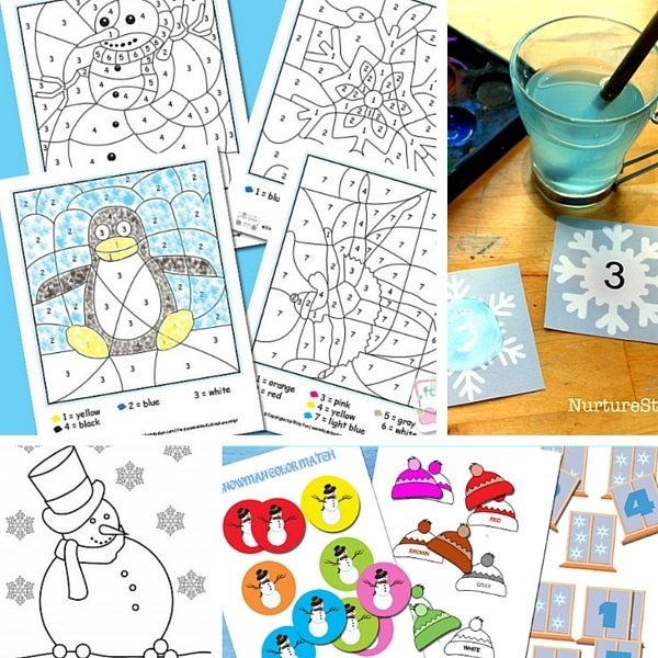 25 Free Winter Printables for Kids