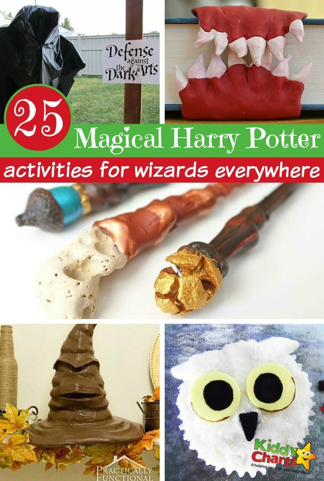 25 Magical Harry Potter Activities for kids