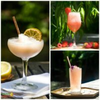 3 Rose Summer Cocktails for naughty parents everywhere