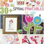 30+ Spring printables for kids