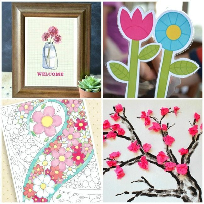 30+ Spring printables for little ones