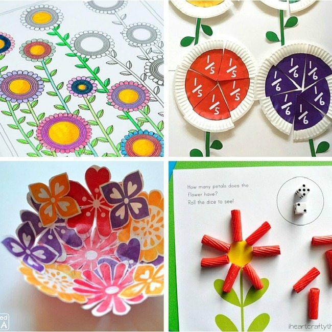 40+ Flower Printables
