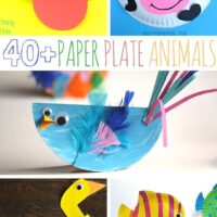 40+ animal paper plate animals crafts for the kids