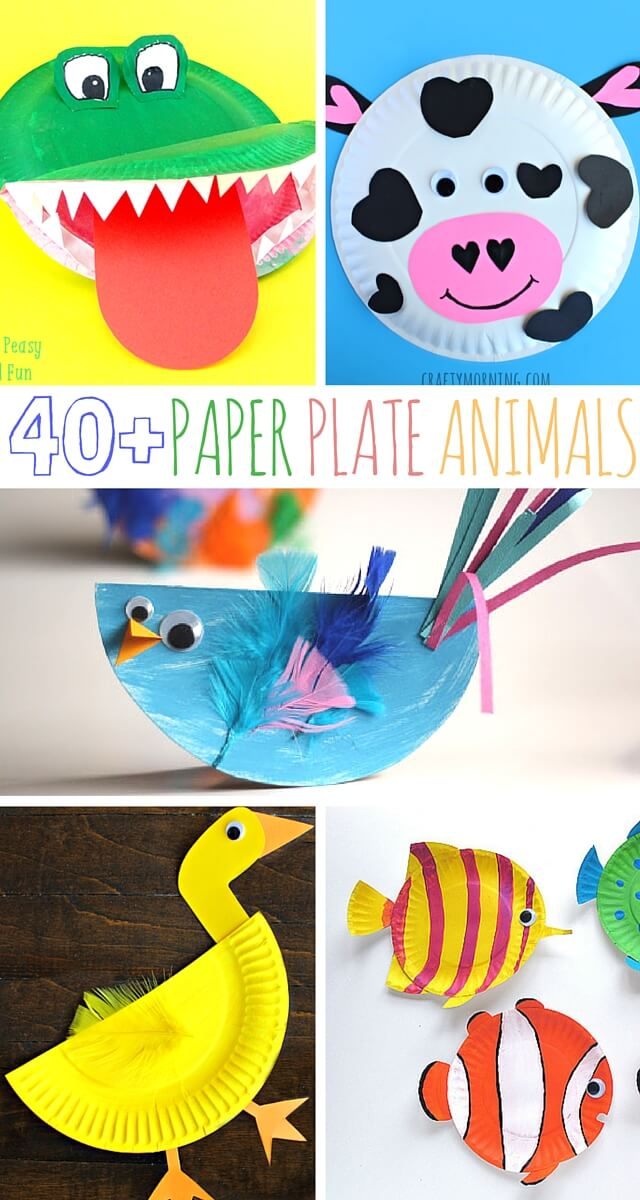 40+ Paper Plate Animal Crafts For Little Ones To Make