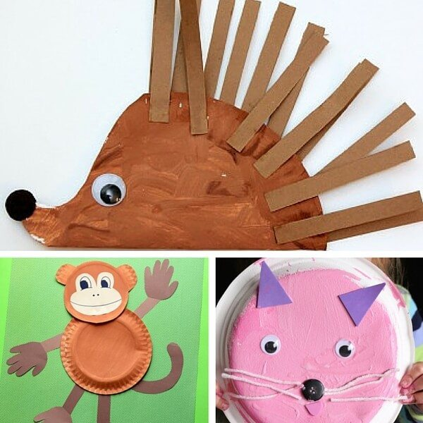 40+ Paper Plate Animal Crafts