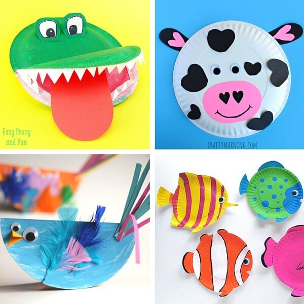 40+ Paper Plate Animals