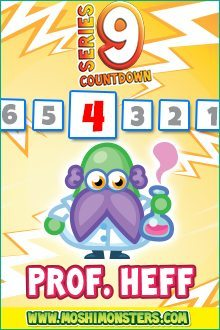 Moshi Monsters Series 9: Proff Heff