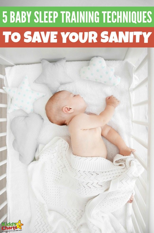 5 baby sleep training techniques to save your sanity