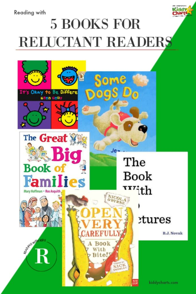 book resources 5 books for reluctant readers