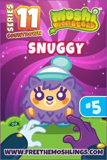 Moshi Monsters Series 11: Snuggly
