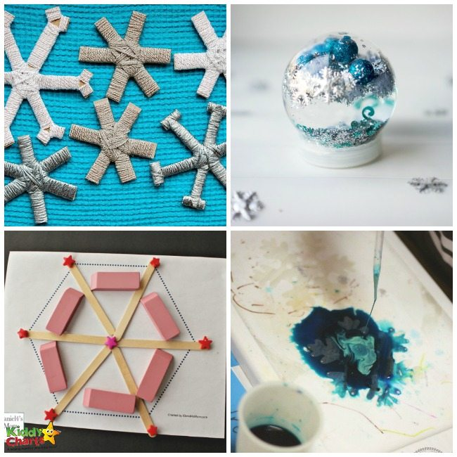50+ Snowflake Activities And Free Printables for Kids