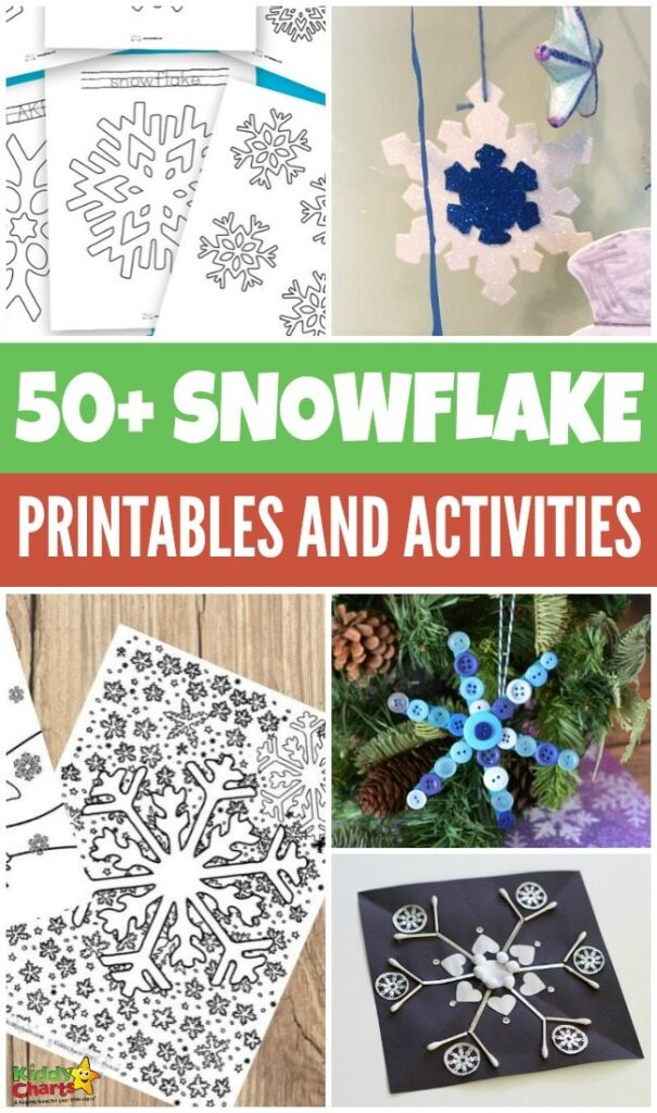 50+ Snowflake Activities And Printables for Kids